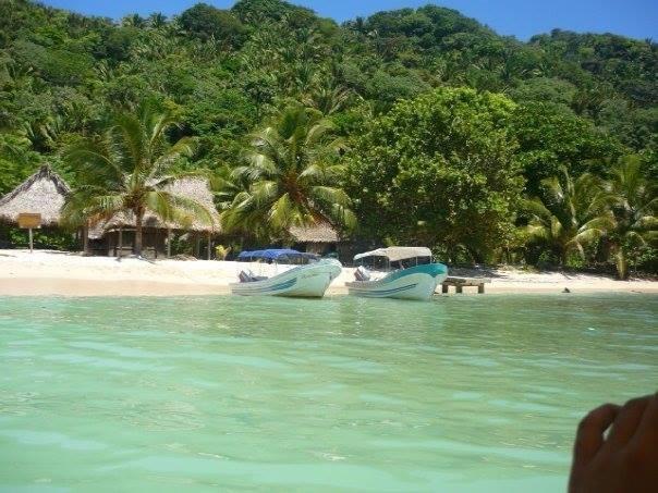 Vista de Cocalito a Punta Sal Tela